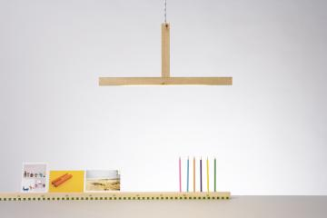 1x1 pendent lamp and ruler