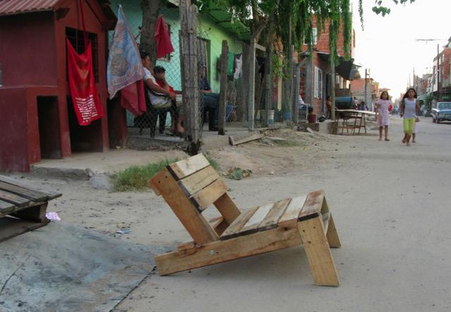 Lugano Pallet Chair