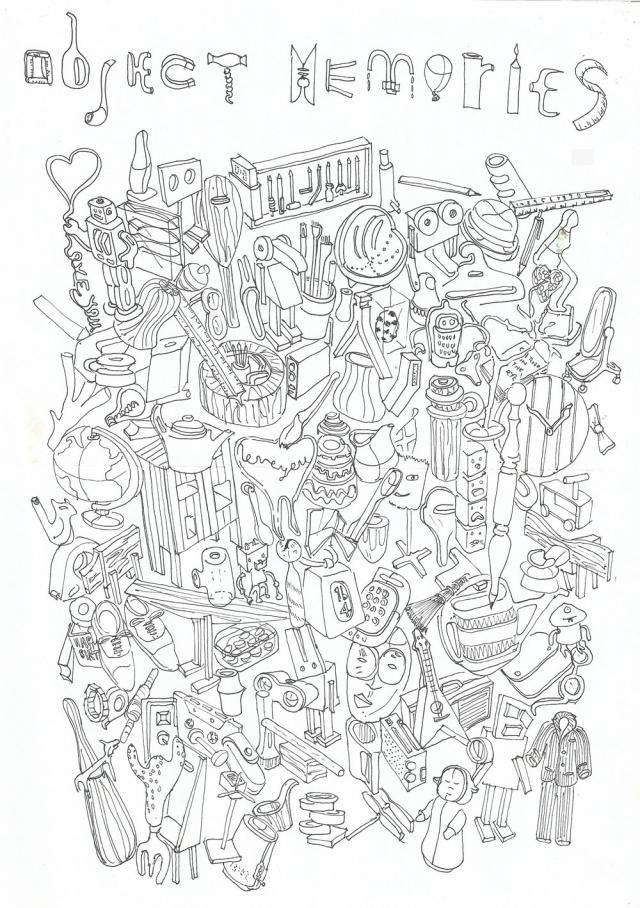 Moleskine studiomama drawings Nina Tolstrup Jack Mama