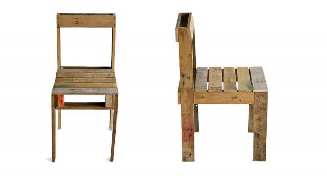 Pallet Chair Hi