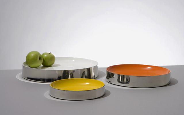 3 pewter bowls