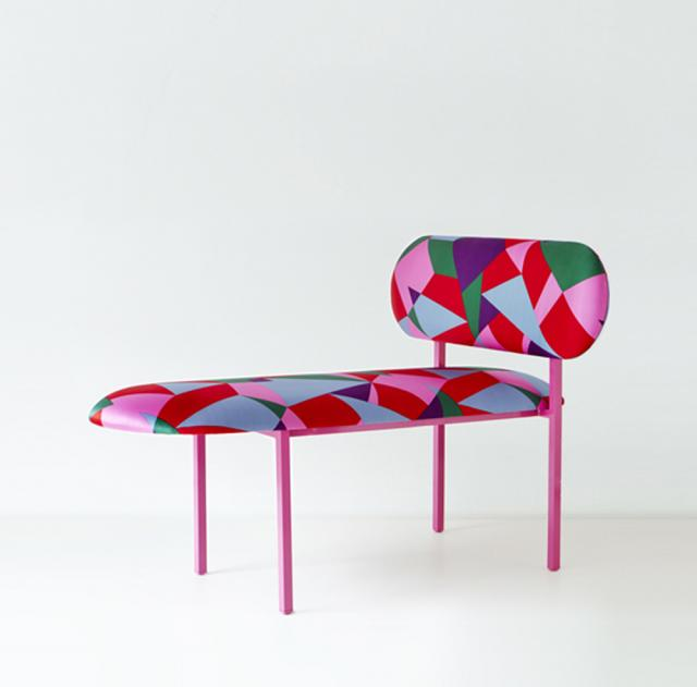 Re-imagined long chair Marc Jacob's Annabel long chair