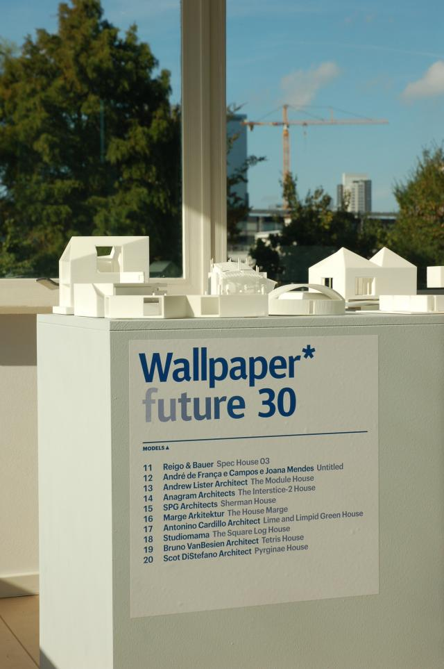 presented on the Architecture bienal in Rotterdam, The Netherlands   Sept  2009 till Jan. 2010