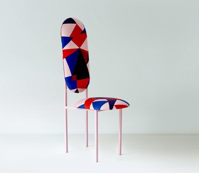 high chair Marc Jacob's Annabelle stain fabric