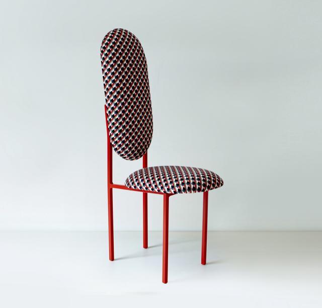 high chair Marc Jacob's parsnip fabric