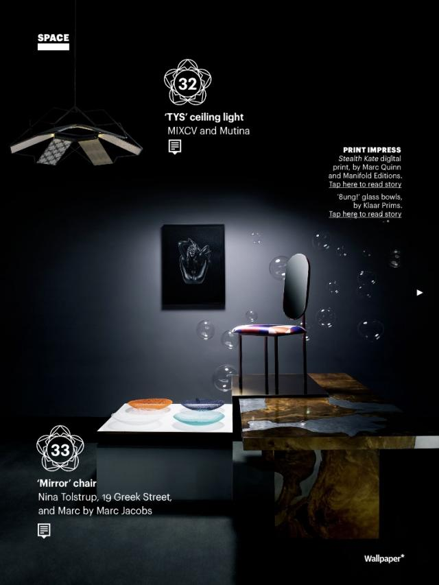 Wallpaper handmade exhibition Milan