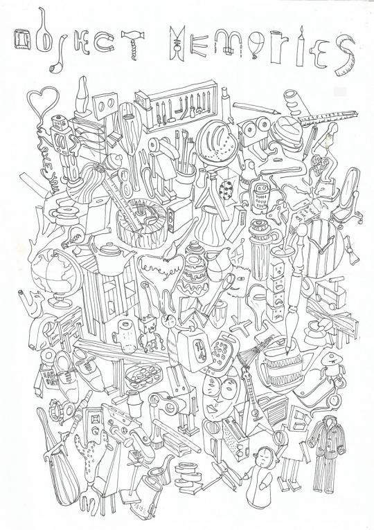Moleskine Sketch Relay Project